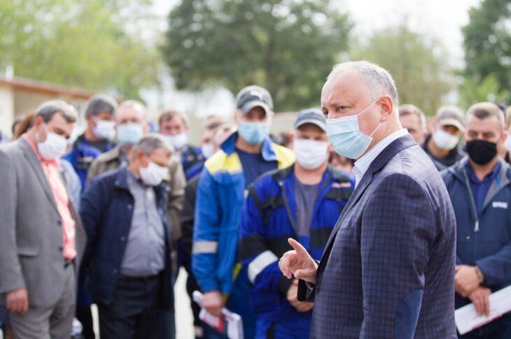 Dodon, acuzat că plătește câte 700 lei moldovenești pentru fiecare vot din regiunea transnistreană