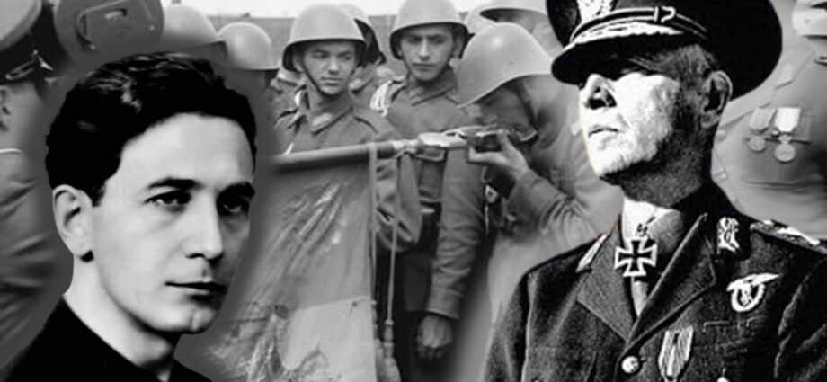 Mareșalul Ion Antonescu și impostorul Horia Sima!?