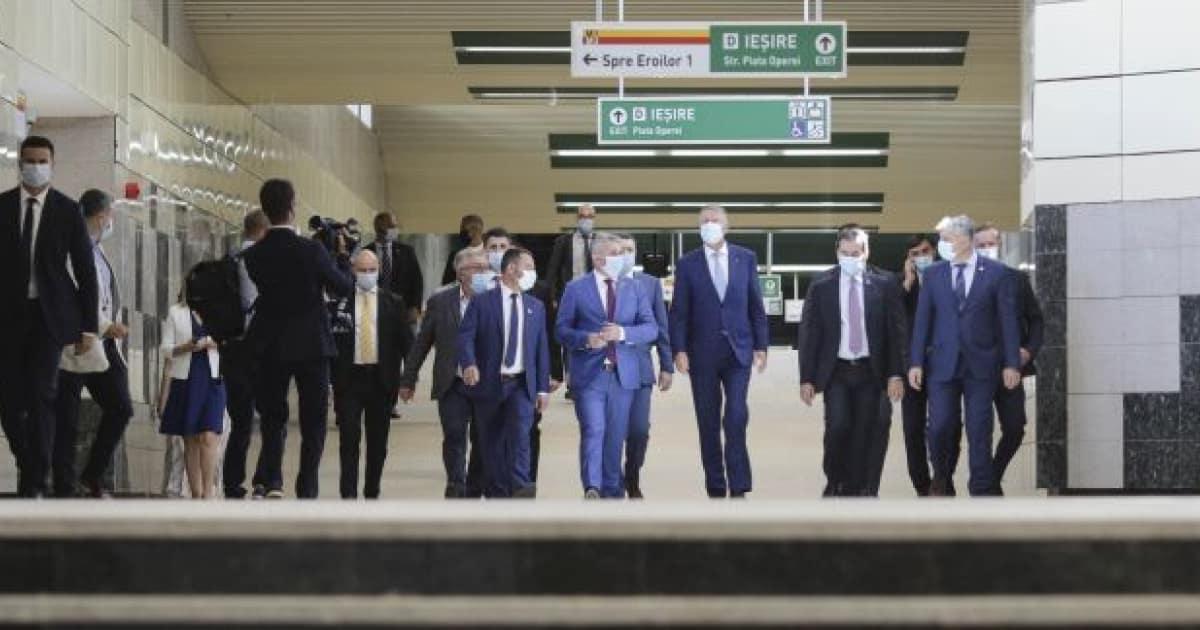 Cu 9 ani întârziere politicienii români au dat drumul la metrou în Drumul Taberei