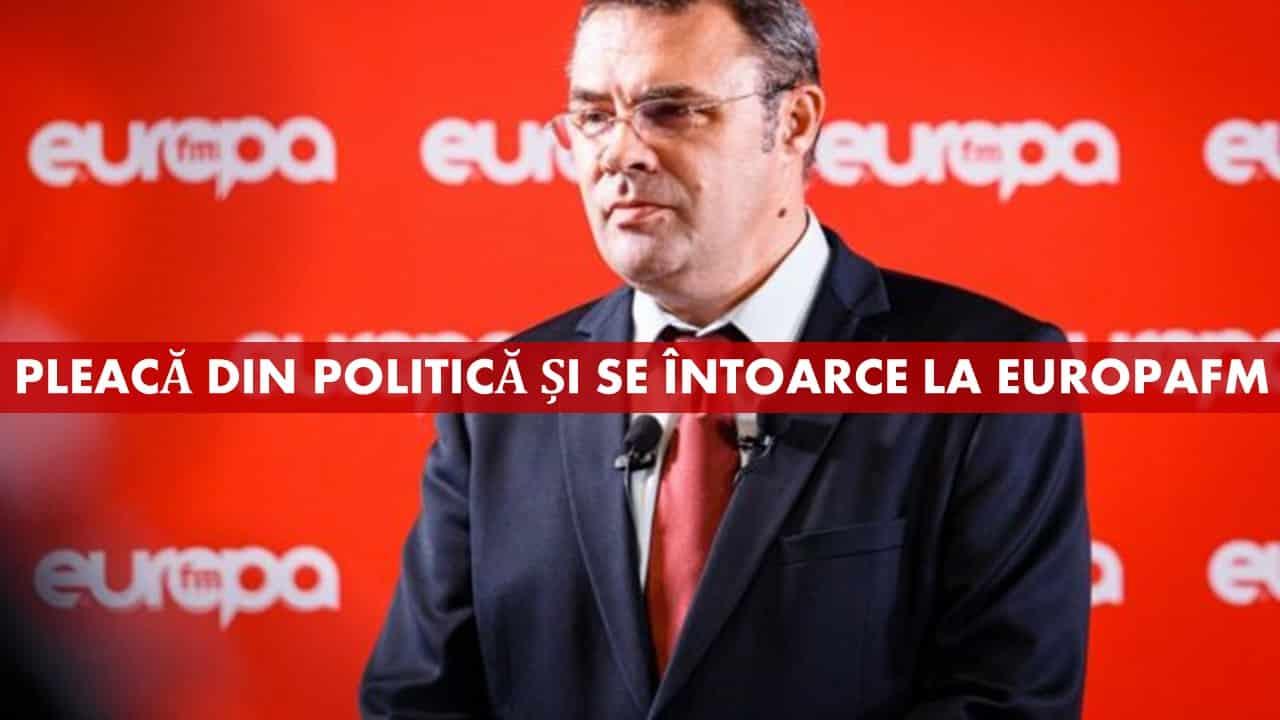 Pleacă din politică cu coada între picioare: Moise Guran se întoarce la EUROPA FM