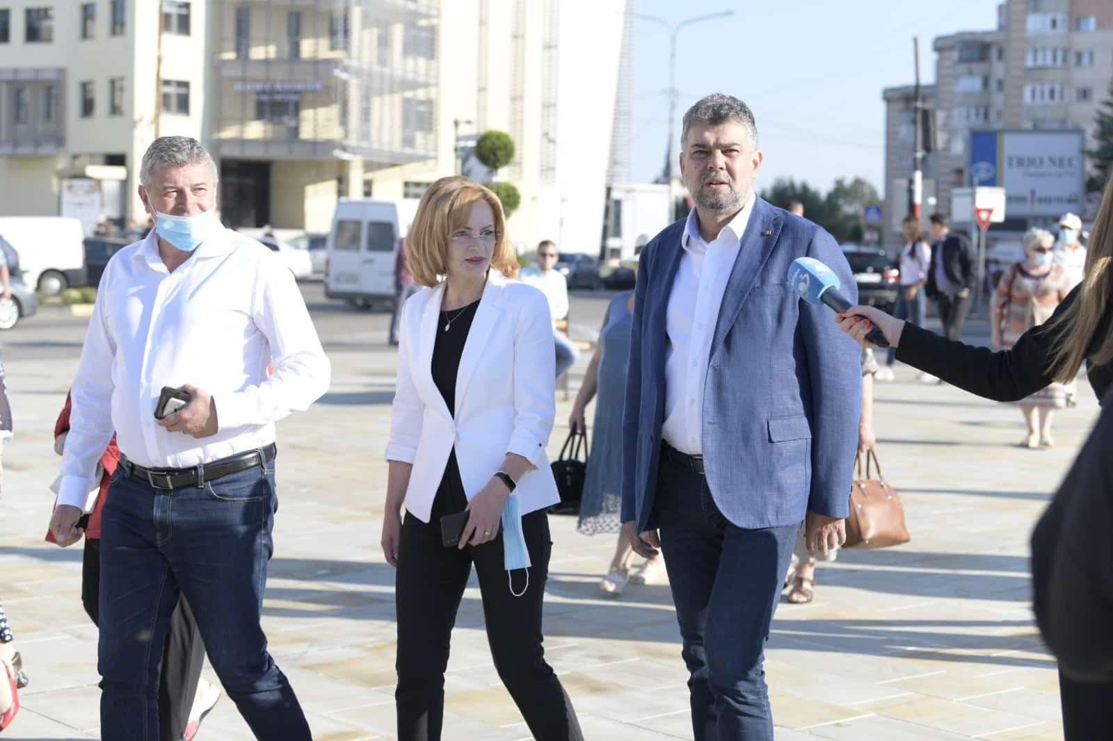 Ciolacu(PSD): la Fălticeni Coman a construit un spital de la zero. Liberalii împrumută 1 000 euro pe secundă
