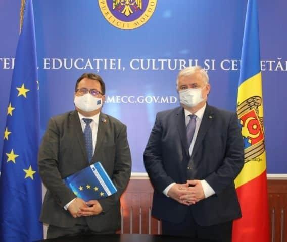 Cooperare între Republica Moldova şi Uniunea Europeană în domeniul educației ~ InfoPrut