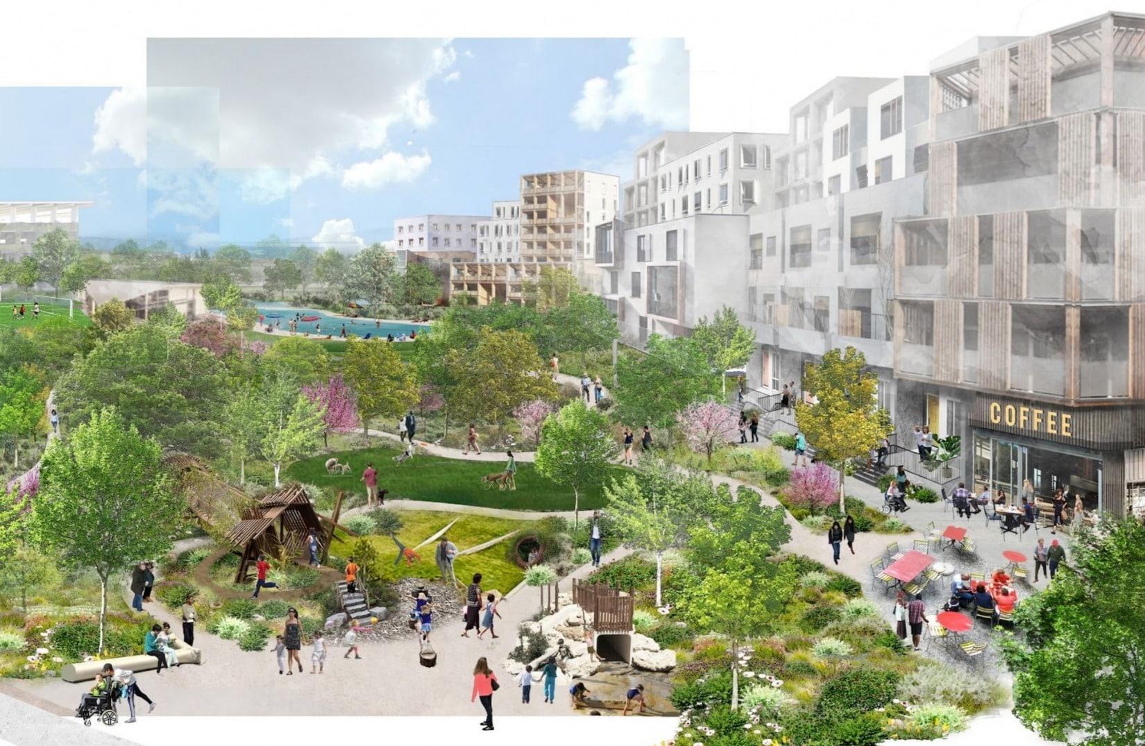 Oraşul Google: Compania construieşte un campus uriaş, cu parcuri, restaurante şi locuinţe (FOTO)