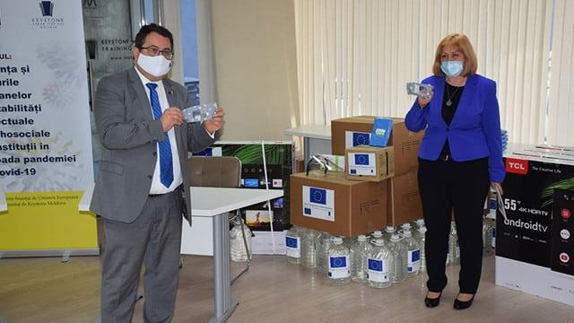 UE sprijină persoanele cu dizabilități din R. Moldova ~ InfoPrut