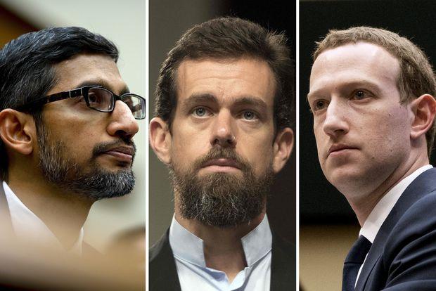 """""""Cine naiba v-a ales pe voi? Cine v-a pus să decideți ce au voie mass-media să relateze?"""" Șefii Facebook, Twitter și Google, în corzile Congresului"""