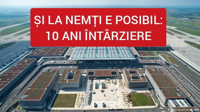Neamții au întârziat cu 10 ani construcția unui aeroport