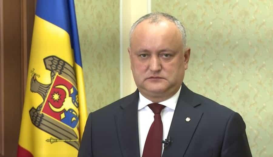 Igor Dodon vrea coaliție PSRM-ACUM în Parlament ~ InfoPrut