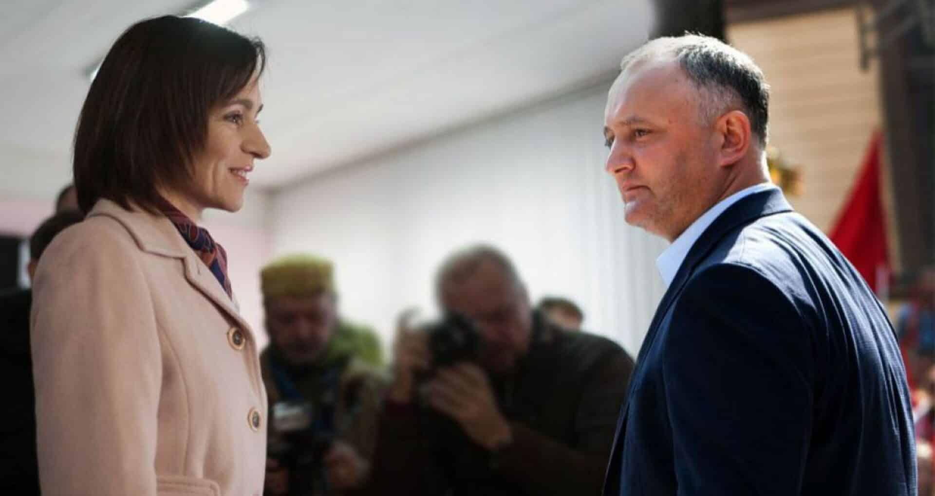 Maia Sandu nu va participa la dezbateri. Reacția staff-ului electoral al lui Igor Dodon