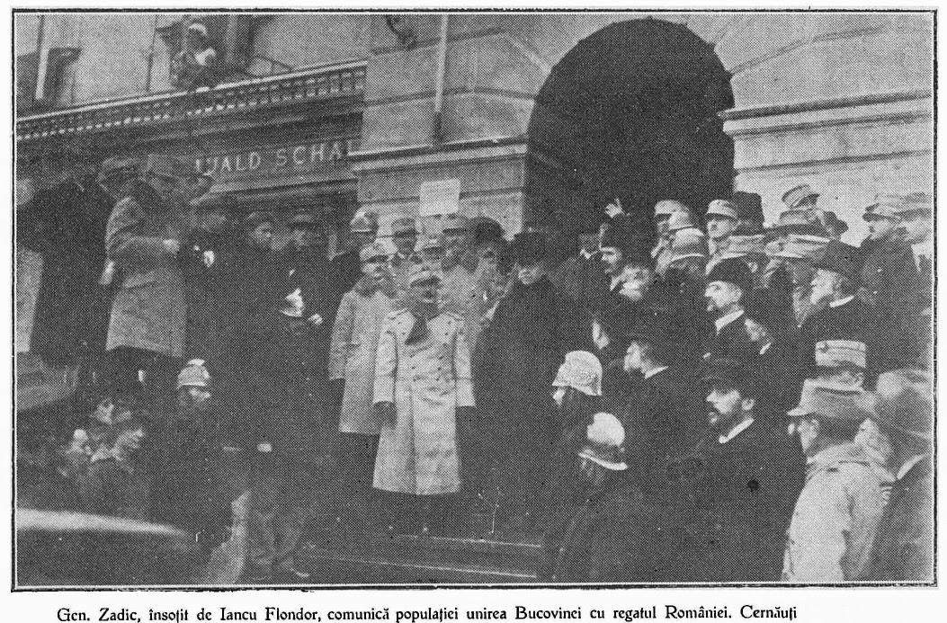 102 ani de la Unirea Bucovinei cu România. La mulți ani, de la Cernăuți până la Suceava! ~ InfoPrut
