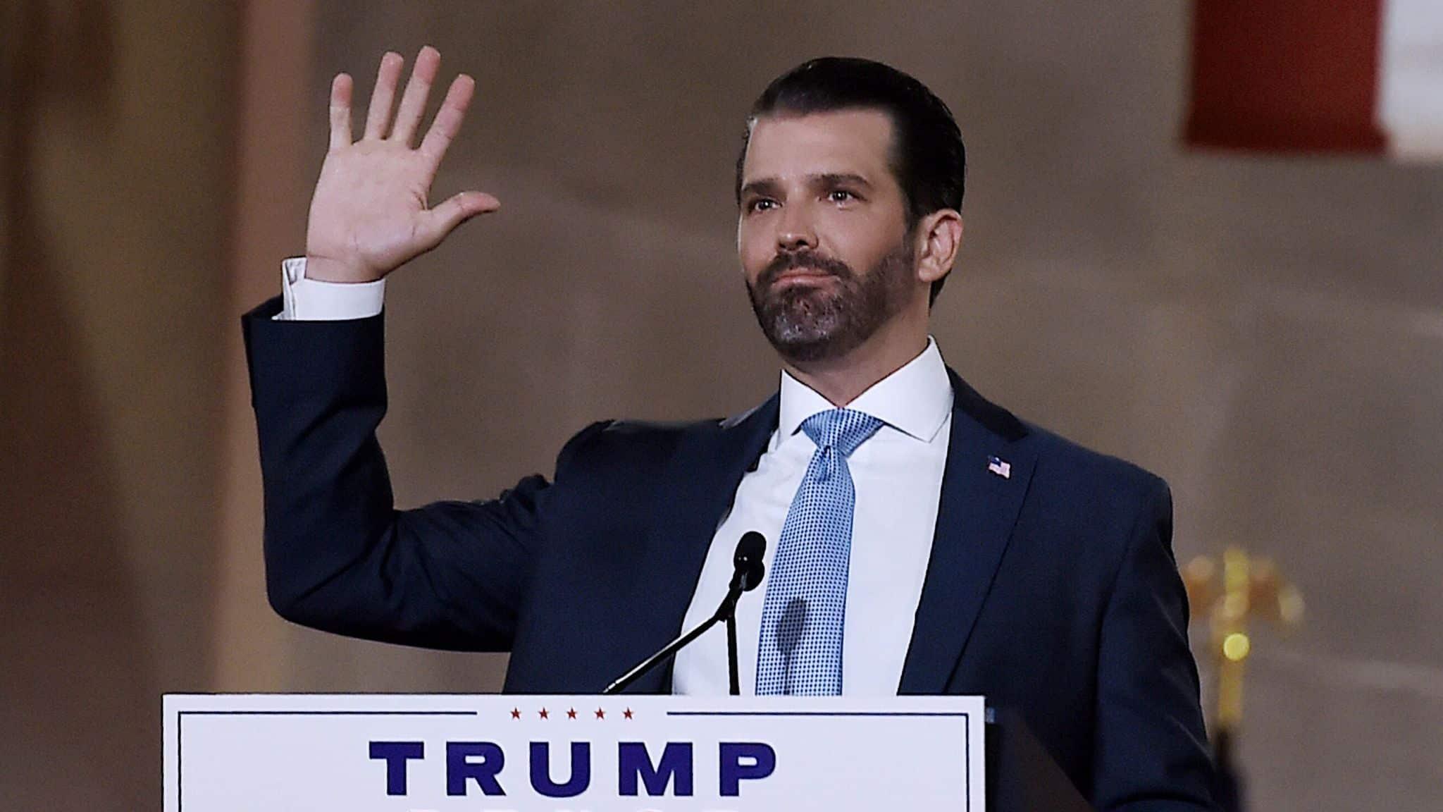 Fiul lui Donald Trump, infectat cu COVID-19