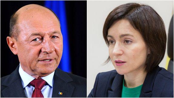 Maia Sandu, declarație despre redobândirea cetățeniei R. Moldova de către Traian Băsescu