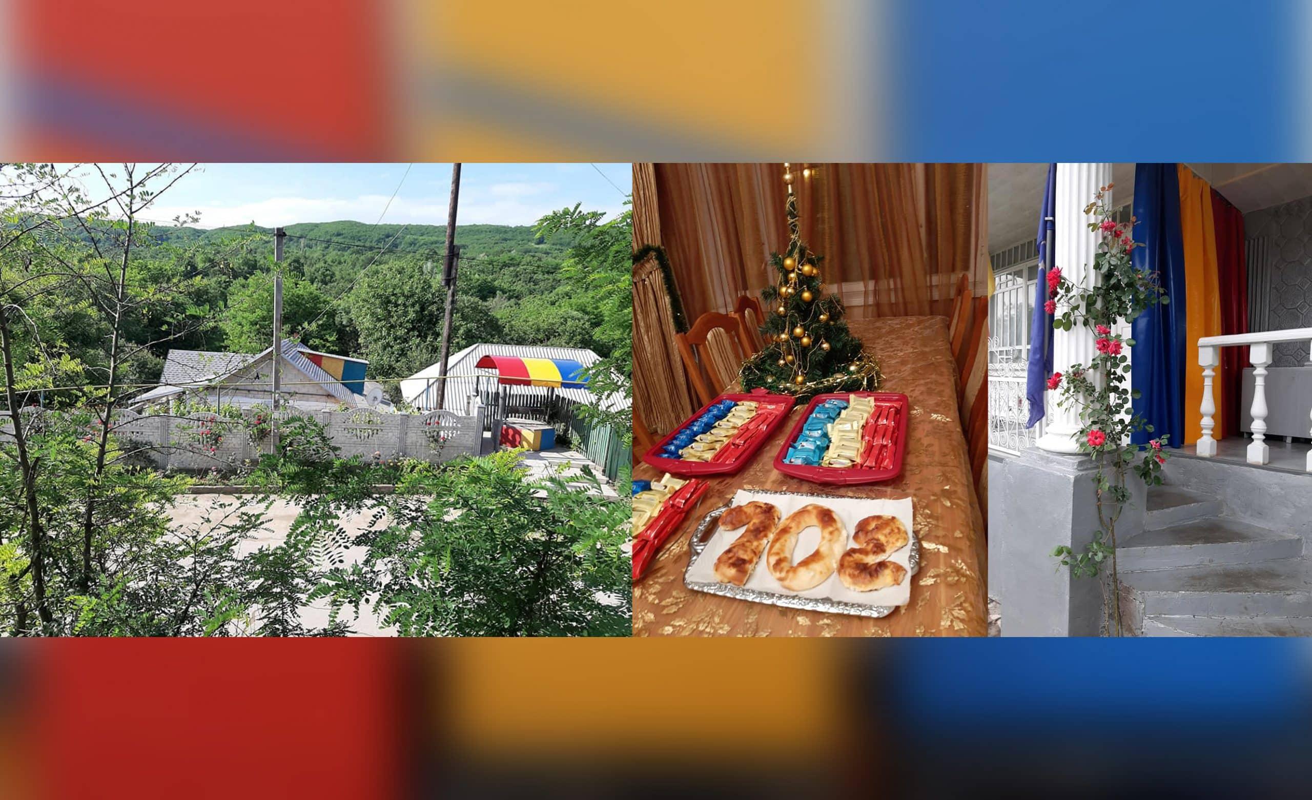 Cum a sărbătorit familia Dodon Ziua Națională a României la Sadova