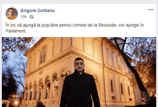 Inepția lui Cartianu: George Simion avea trei ani la revoluție