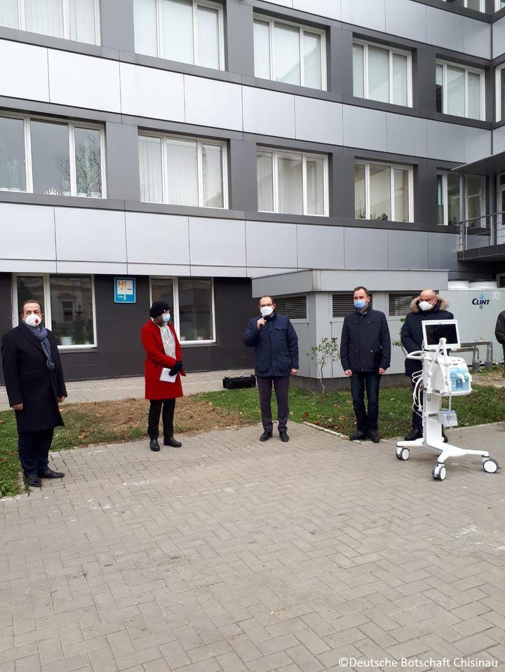 Germania donează R. Moldova echipamente de ventilare pulmonară pentru cazurile grave de infectare cu SARS-CoV-2 ~ InfoPrut