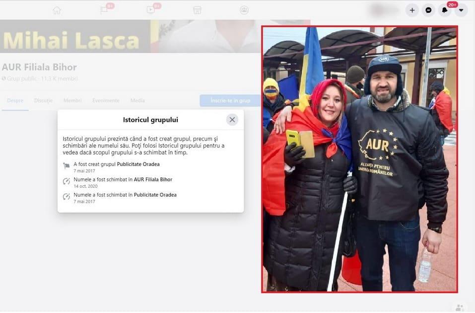 """Prin ce trucuri a crescut AUR în Bihor: Un grup de Facebook şi-a schimbat peste noapte numele, devenind """"filială"""" de partid. S-ar putea să fii fan fără să știi"""