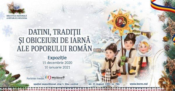 Datinile, tradițiile și obiceiurile de iarnă ale poporului român, prezentate într-o expoziție la Chișinău
