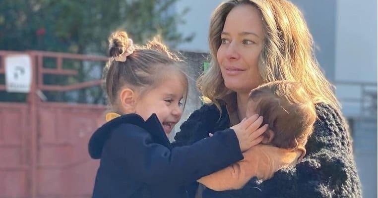 Este leită mama ei! Cum arată la doar patru luni Vera, fetița mai mică a Laurei Cosoi