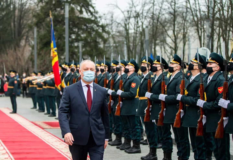 Igor Dodon, huiduit la plecarea din Președinție