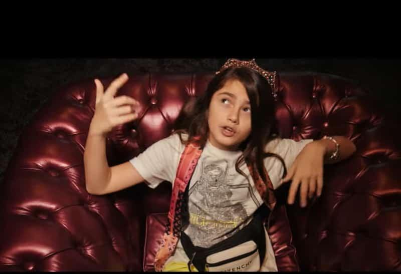 Baby Mafia: Videoclipul unei fetiţe de 10 ani din Bihor şochează internetul (VIDEO)