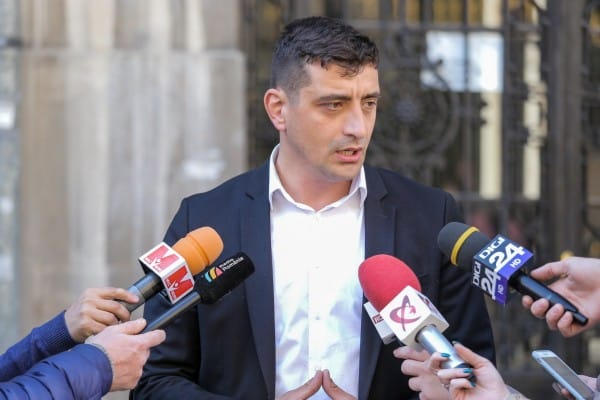 George Simion, după vizita lui Klaus Iohannis la Chișinău: Trebuia să pună accent pe românitate și pe inevitabila reîntregire națională ~ InfoPrut