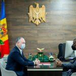 """Dodon, după întrevederea cu ambasadorul SUA la Chișinău: ,,Am fost unanimi că pentru Moldova anul curent va fi unul dificil"""""""