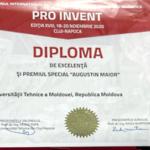 """Premiul special """"Augustin Maior"""" din Cluj-Napoca a ajuns la Chișinău ~ InfoPrut"""