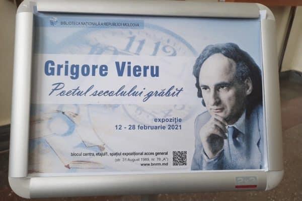 Omagiu adus lui Grigore Vieru la Chișinău ~ InfoPrut