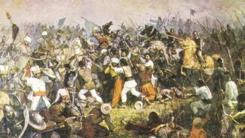 Mircea la Rovine și categorica victorie împotriva lui Baiazid