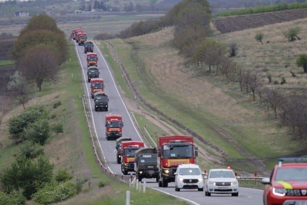 România trimite în Republica Moldova 13 camioane cu ajutor umanitar. Unde vor fi primite de această dată