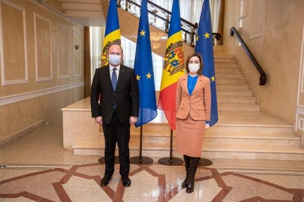 Ce a discutat la Chișinău ministrul de externe de la București cu președintele Maia Sandu