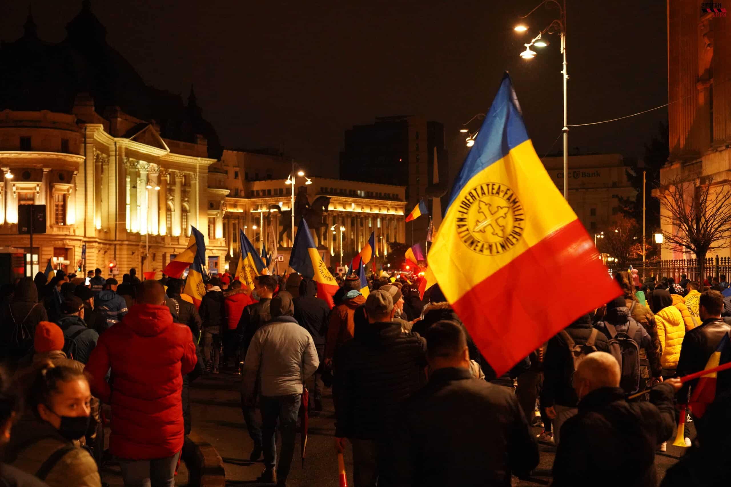 Degeaba se mint USR, PNL și PSD: majoritatea protestatarilor erau susținători AUR