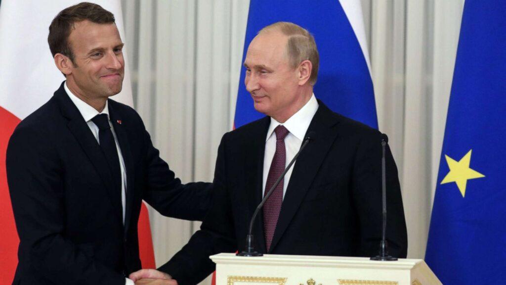 Zelensky: Macron are relații mai bune cu Rusia lui Putin decât cu Ucraina. Vrem să intrăm în NATO și UE