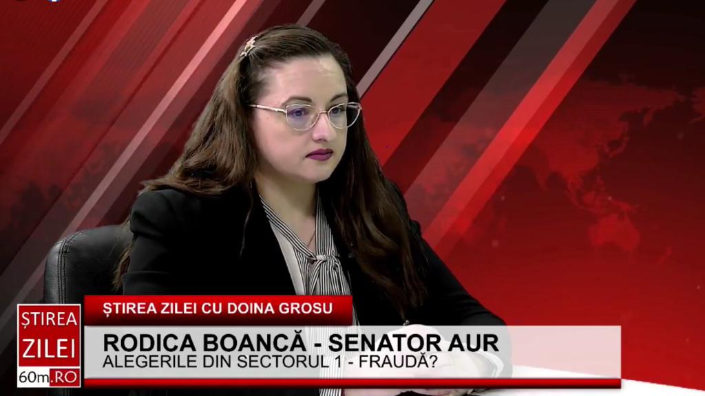 Rodica Boancă (AUR): Florin Cîțu susține că 'o ducem bine', dar continuă să îngroape România în împrumuturi