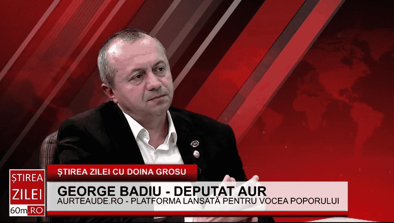 """George Badiu (AUR) – despre spitalele modulare nefolosite construite pentru covid-19: """"Sunt banii românilor aruncați pe geam"""""""