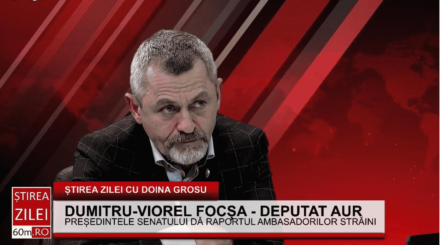 """Viorel Focșa (AUR) – despre depolitizare: """"Ministrul este normal să fie numit politic, dar managerul de spital sau directorul de școală nu întră în discuție"""""""