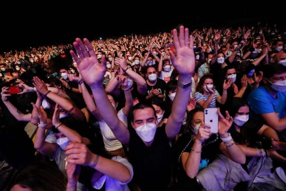Barcelona: Concert-test cu 5.000 de oameni. Nicio persoană nu s-a infectat