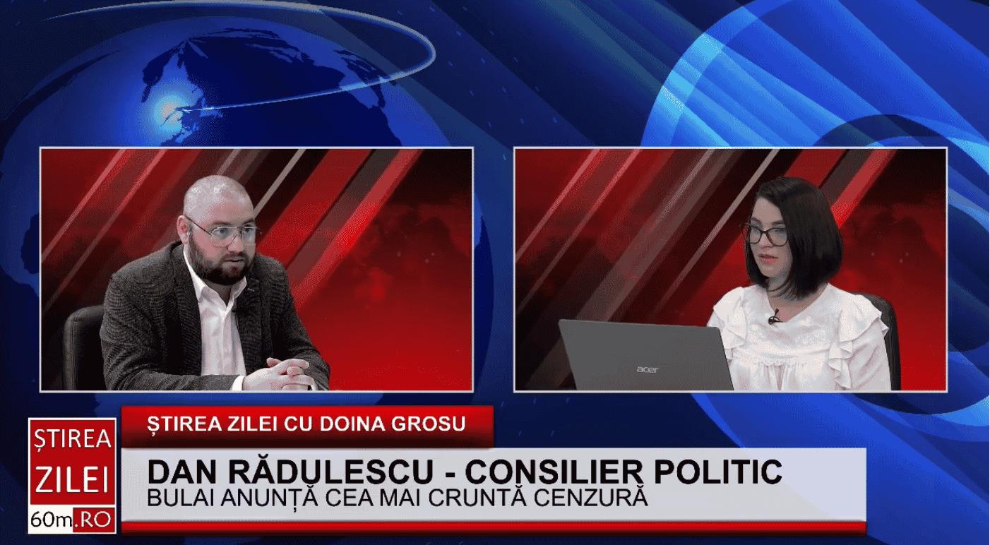 """Dan Rădulescu: """"Președintele Senatului, Anca Dragu, depășește atribuțiile atunci când raportează problemele interne ale țării către ambasadele străine"""""""