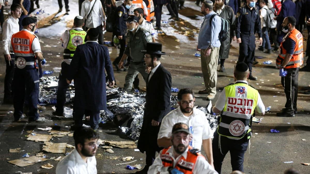 [VIDEO] Israel: Zeci de oameni au fost ucişi într-o busculadă la o sărbătoare religioasă