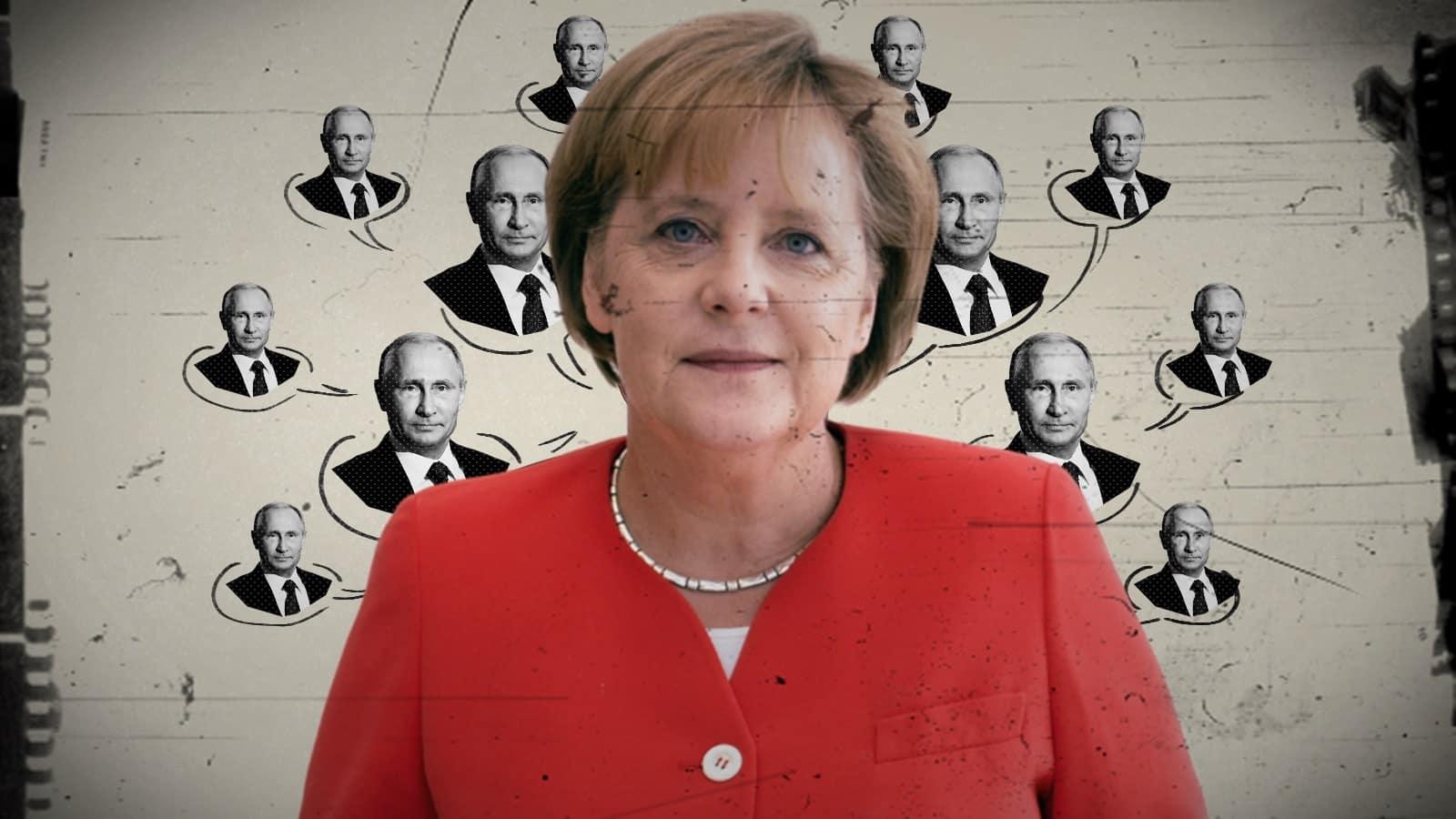 Merkel trădează UE și SUA în interesul Rusiei