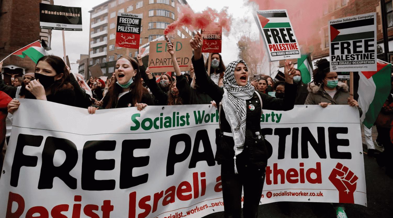 """VIDEO: Manifestaţii pro-palestinene la Paris, Madrid, Londra, Montreal, Washington: """"Acesta nu este război, e genocid!"""""""