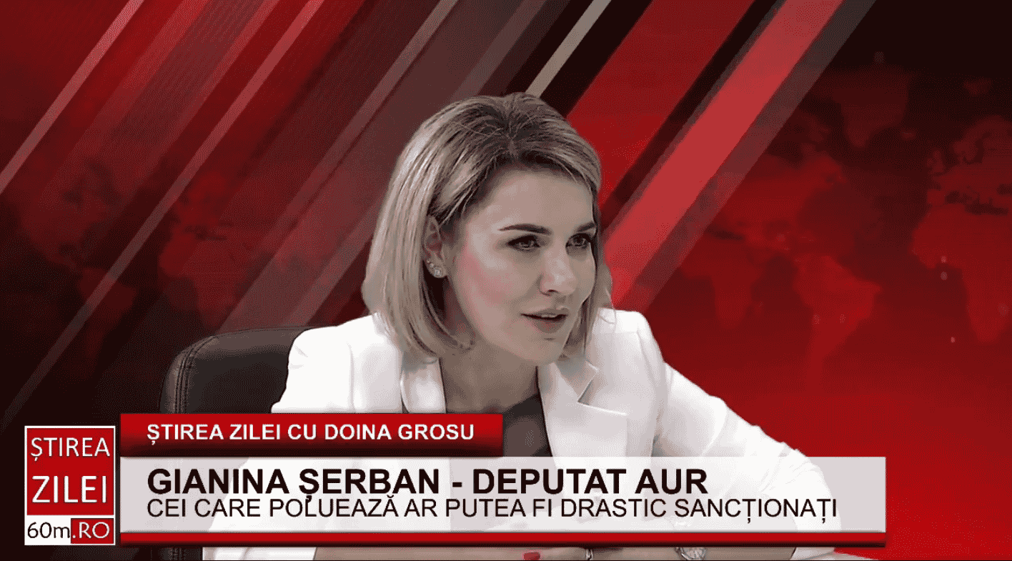 """Gianina Șerban(AUR): """"Florin Cîțu nu a prezentat PNRR în Parlament, ci un discurs politic"""""""