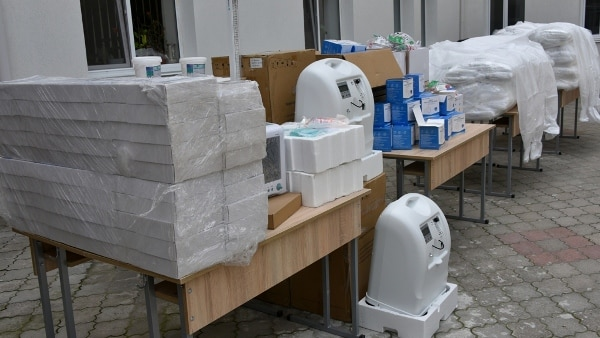 Marea Britanie, o nouă donație de echipament medical pentru Ministerul Apărării de la Chișinău