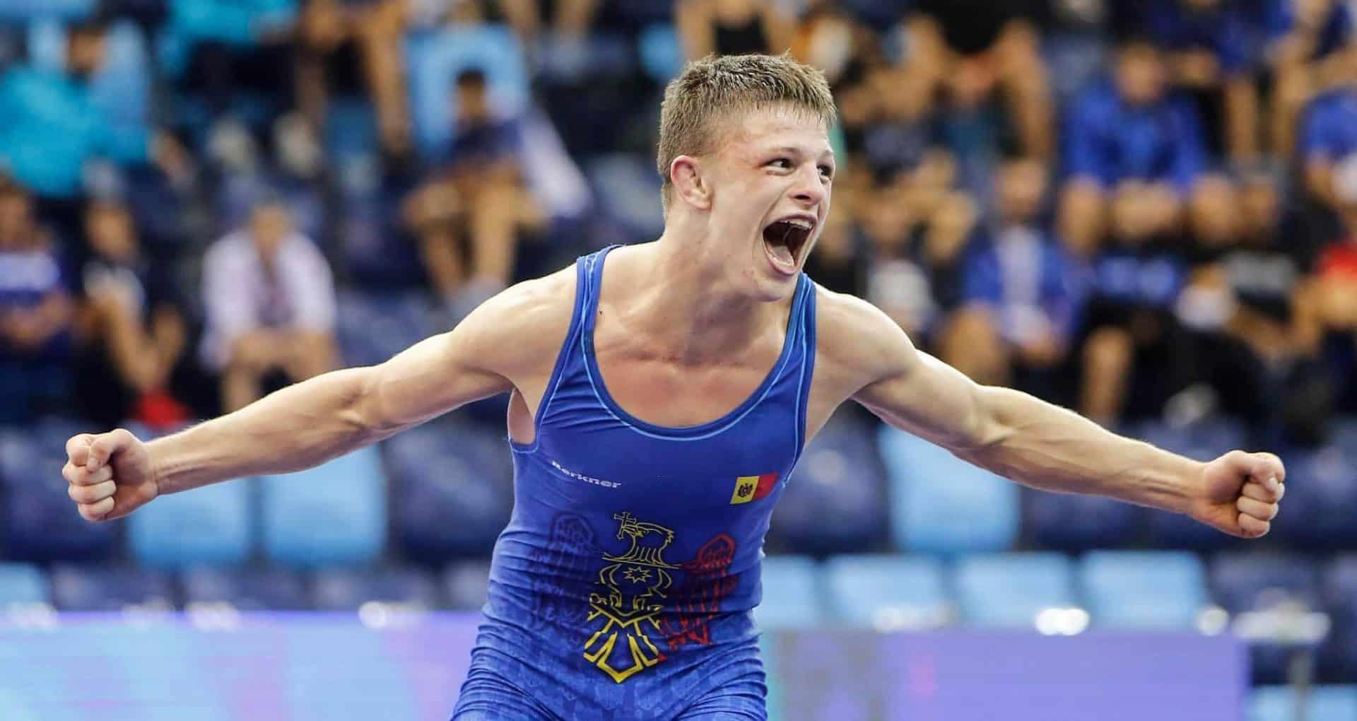 Un sportiv din R. Moldova, campion mondial la lupte greco-romane printre cadeți