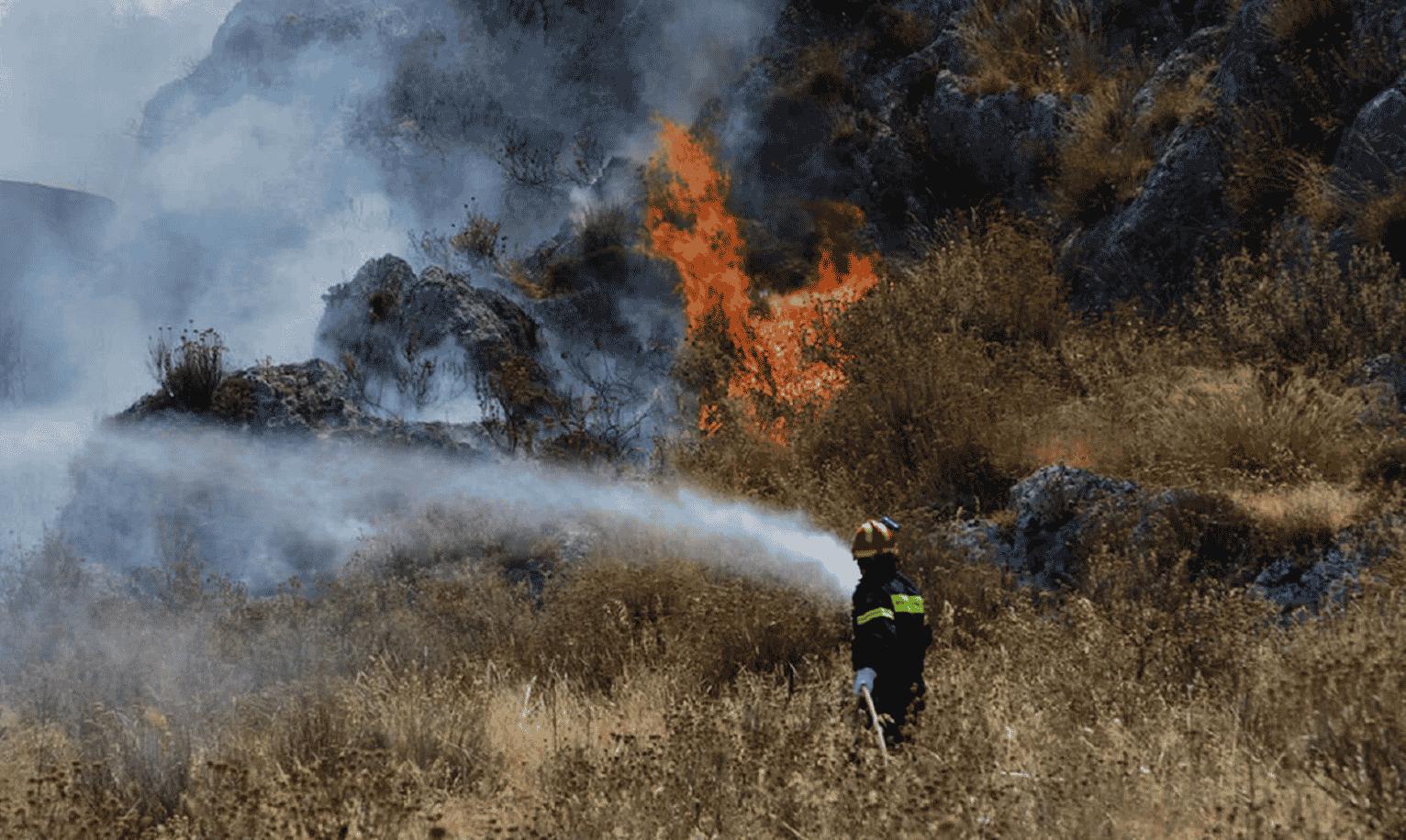 Imagini dramatice din Grecia devastată de incendii. Atena este înconjurată de flăcări