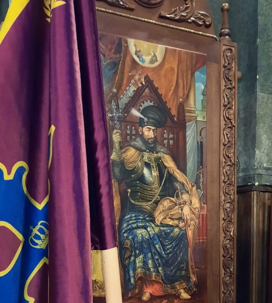 Mihai Viteazul, comemorat la Biserica Mihai Vodă, din București