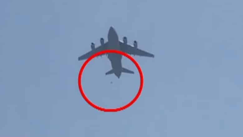 Afganistan: Resturi umane au fost găsite în trapa unui avion US AIR FORCE