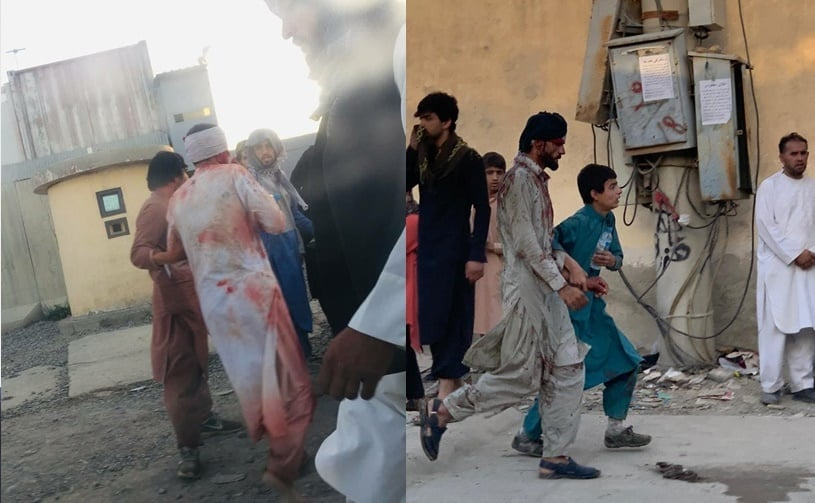 FOTO Afganistan: Atac sinucigaş în fața Aeroportului din Kabul