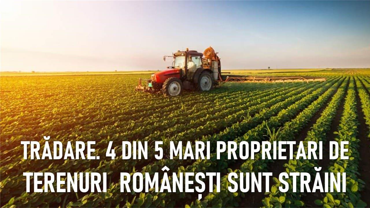 CATASTROFĂ. În primii 5 explotatori de terenuri din România 4 sunt străini și doar 1 este român – CRITICII.RO