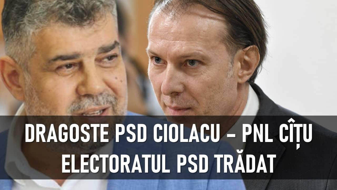 PSD ține cu dinții ca Florin Cîțu să râmână premier. BLAT cu PNL, electoratul dezamăgit – CRITICII.RO
