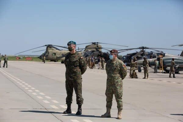 Forţele Aeriene Regale Canadiene, poliţie aeriană a NATO în România şi la Marea Neagră ~ InfoPrut